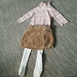Other - 18-24mo darling winter skirt outfit. EUC!